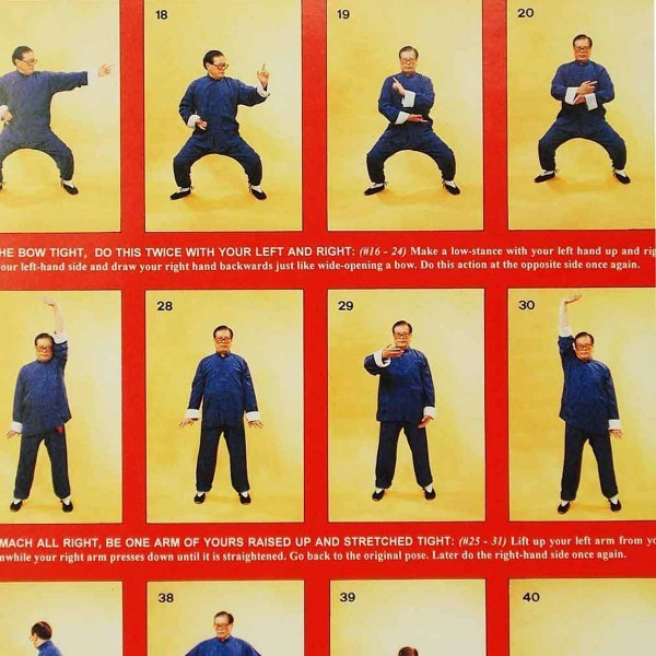 Poster - Eight Sectioned Satin Chi Kung